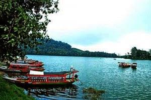 Danau Situ Patenggang kupuk blog