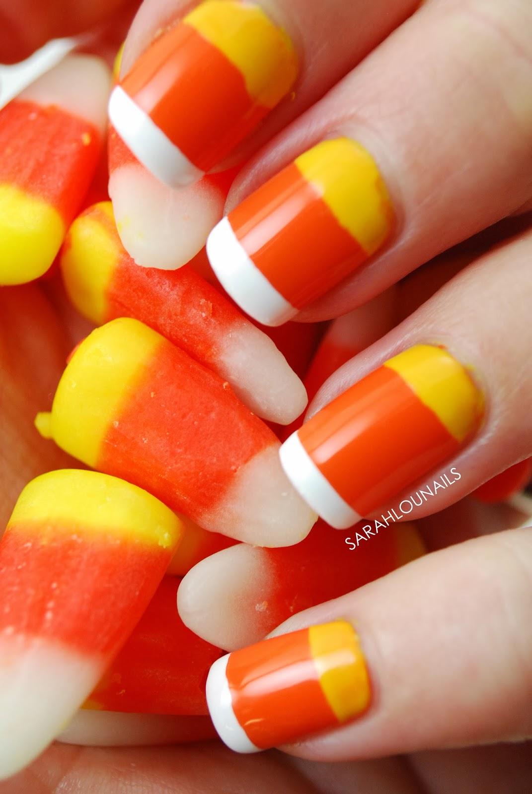 Sarah Lou Nails: Candy Corn Nails!