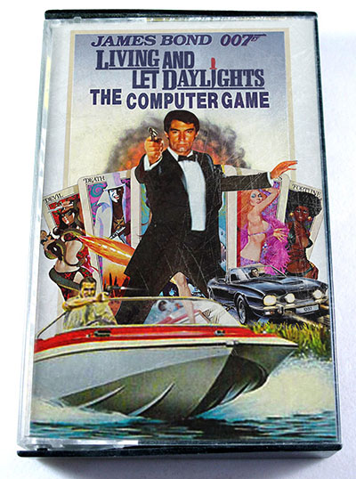 Living and Let Daylights cassette cover