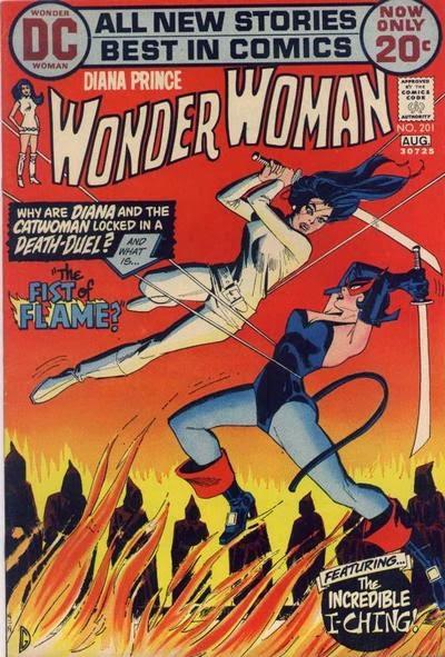 Wonder Woman #201, Catwoman