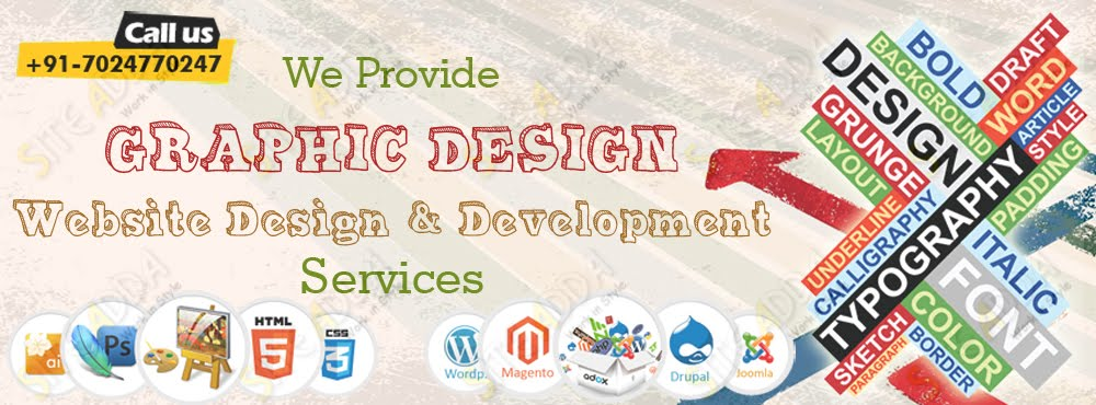 Website Design and Development Services With Siteadda