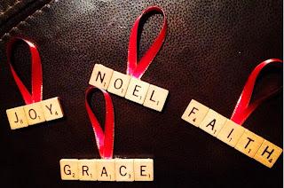 http://postgradcrafting.blogspot.com/2013/08/scrabble-letter-ornaments.html