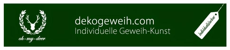 dekogeweih.com - Individuelle Dekogeweih-Kunst.