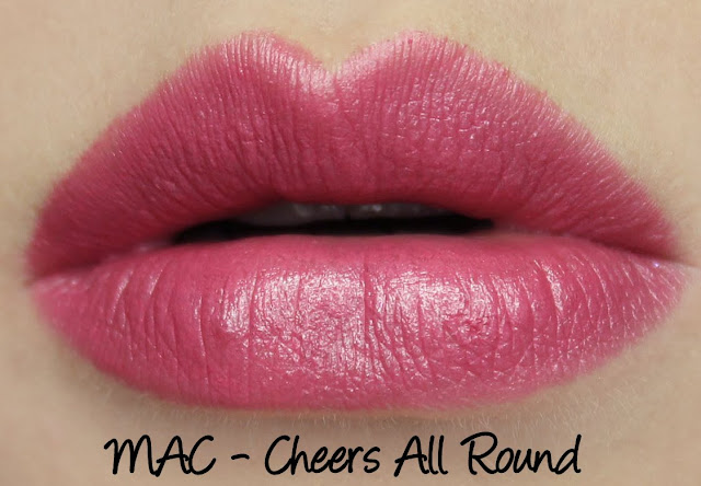 MAC Monday: Cheers All Round Lipstick Swatches & Review