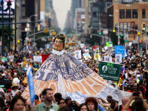 400,000 At People's Climate March In NYC