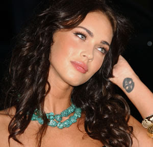 Megan Fox Tattoo Designs