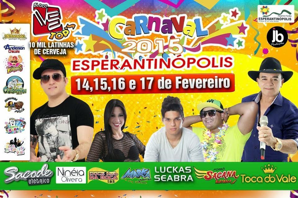O Melhor Carnaval é aqui em Esperantinópolis!!!