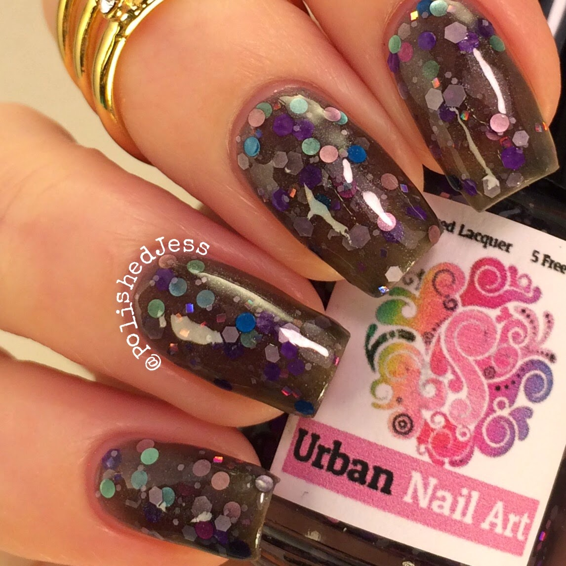 Polished Jess : Urban Nail Art - Out of the Blue Collection