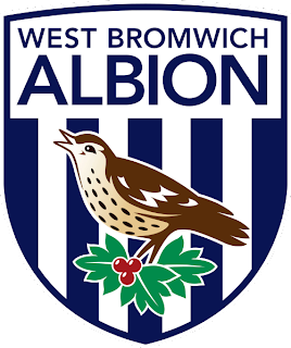 Kumpulan Logo Club Liga Primer Inggris Terbaru - West Bromwich Albion