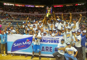 San Mig Coffee Mixers win 2013 PBA Governors' Cup