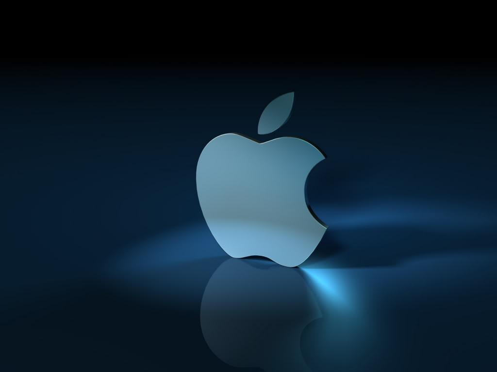 All Desktops Wallpapers Apple Shine With Shwdow 3d Logo Wallpaper