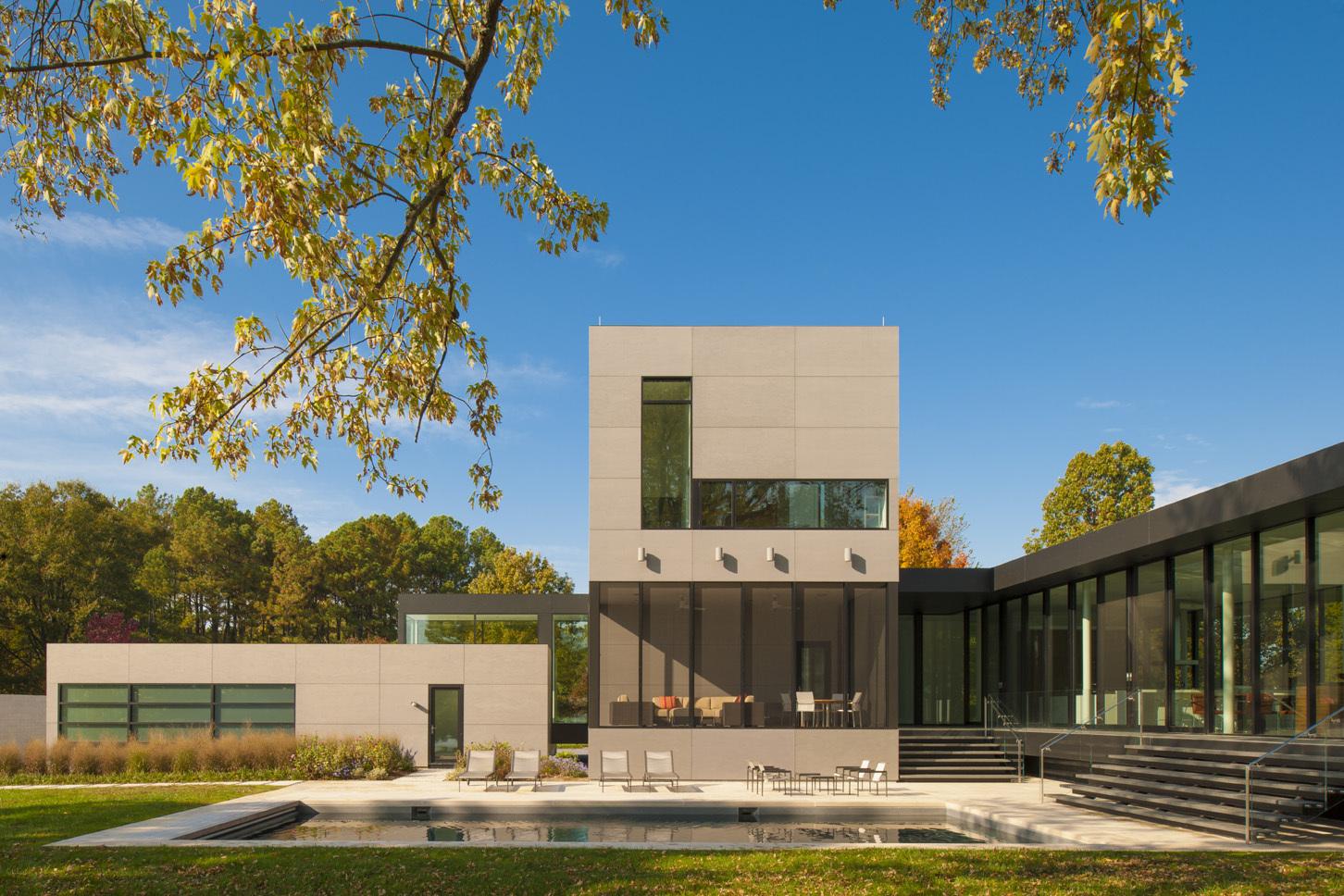 architecture as aesthetics tred avon river house robert m tred avon river house robert m gurney architect