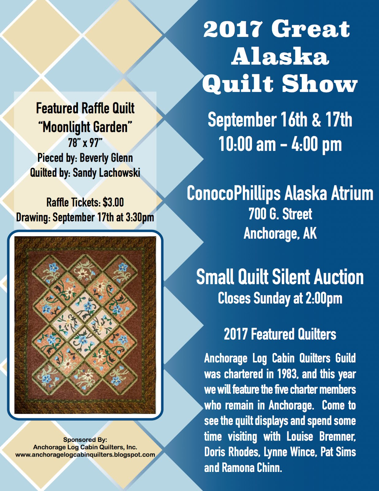 Anchorage Log Cabin Quilters : quilts inc shows - Adamdwight.com