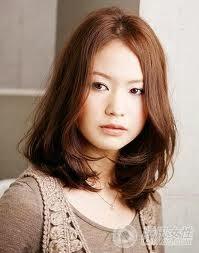 Model Rambut Wanita Sebahu Ala Korea 13