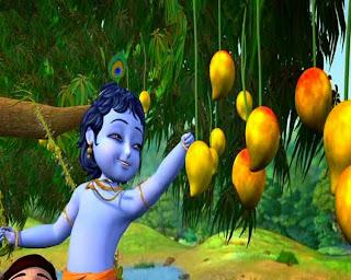 Krishna kecil anak yang hebat