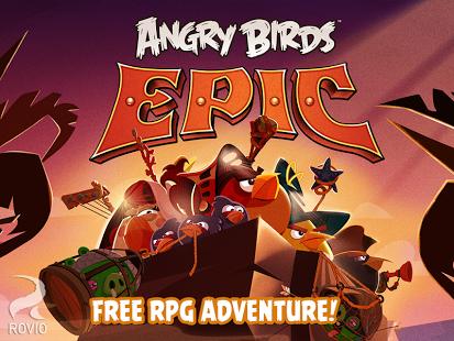 Angry Birds Epic لعبة انجري بيرد نسخة جديدة