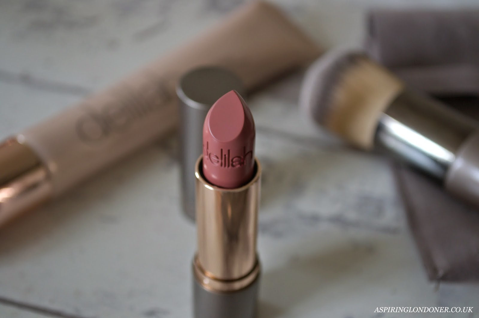 Delilah Cosmetics Colour Intense Cream Lipstick Honesty Review - Aspiring Londoner
