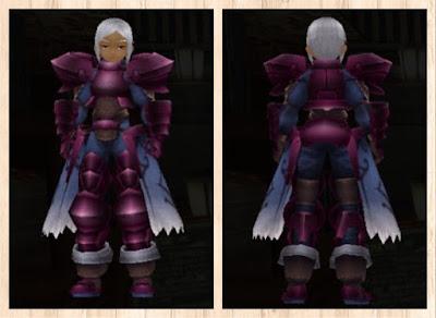 プレートアーマー赤紫1染色