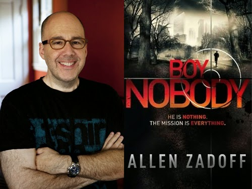 Allen Zadoff, author of Boy Nobody