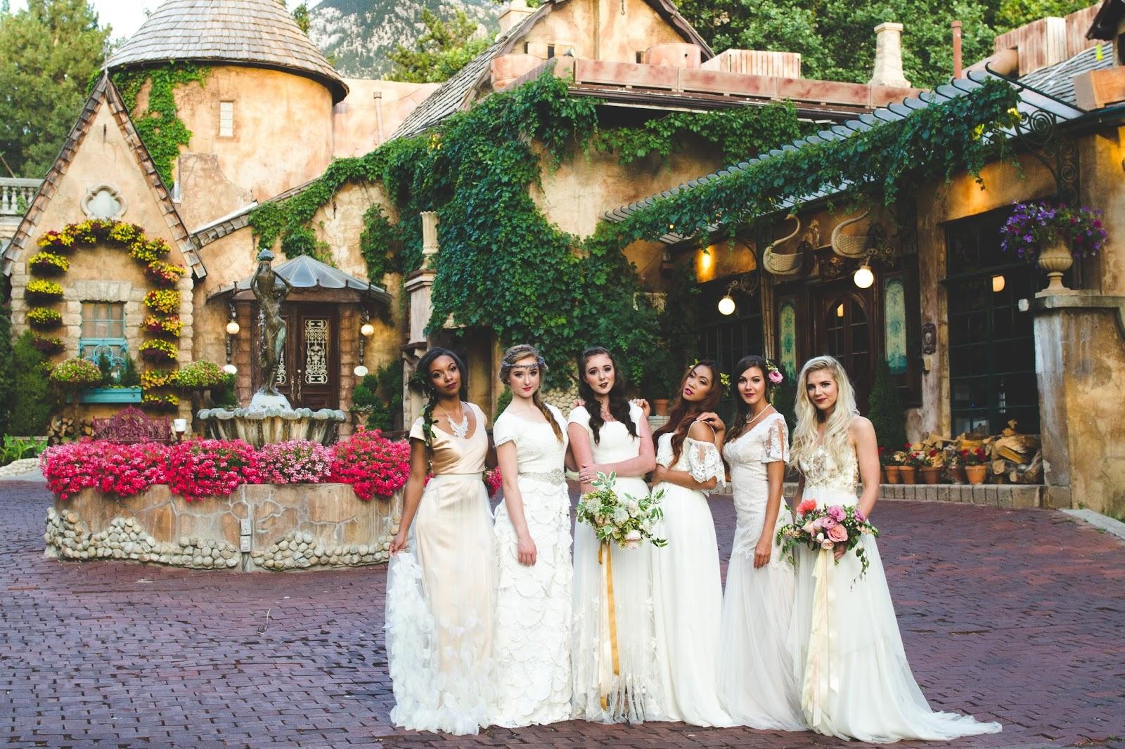 La Caille Bridal Shoot