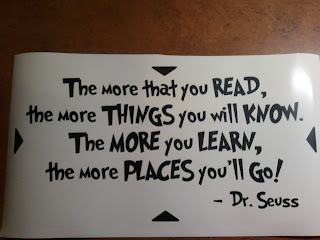 Dr Seuss Wall Decall