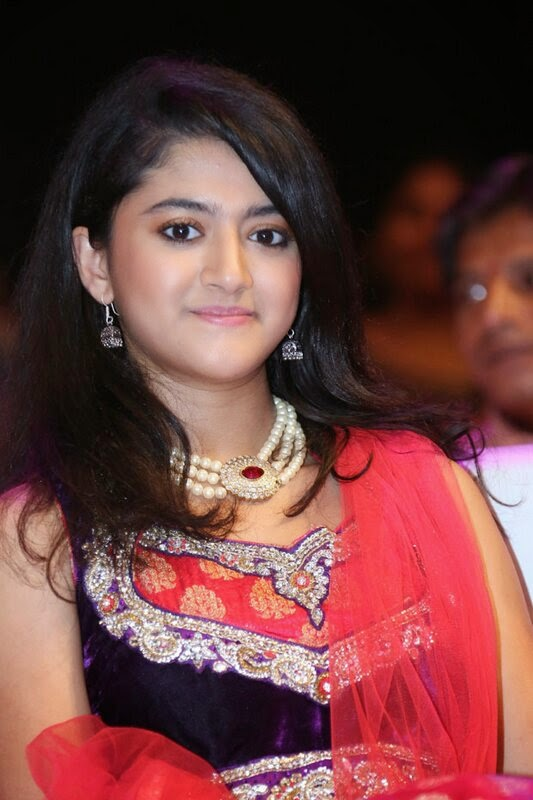 Akshara cute beauty tinsel shining eyes Designer Anarkali Suit Must see beautiful Actress