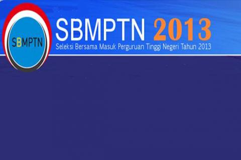 Jadwal SBMPTN 2013