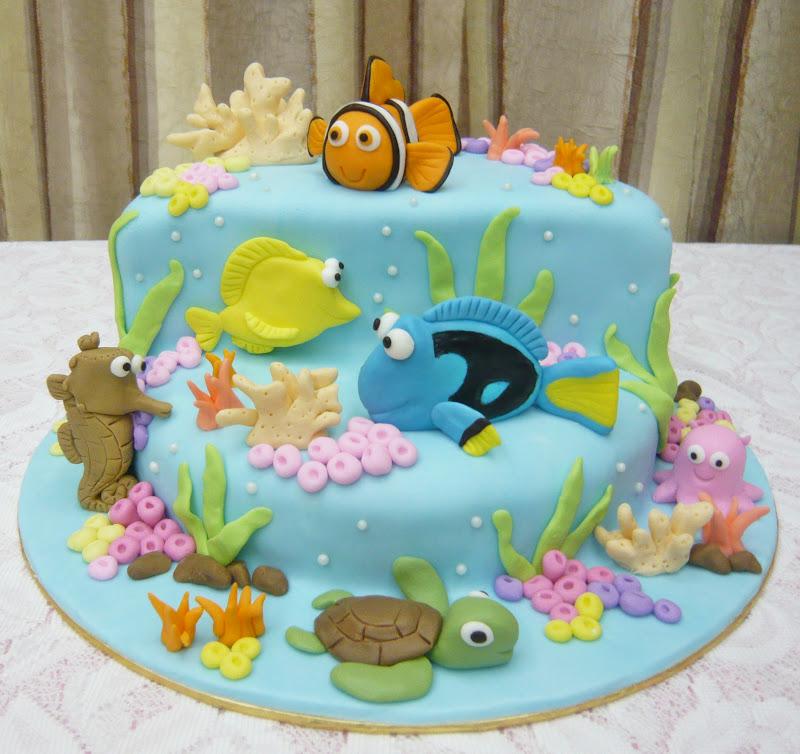 Nemo Cake: Jenn Cupcakes & Muffins: Finding Nemo Themed Cake