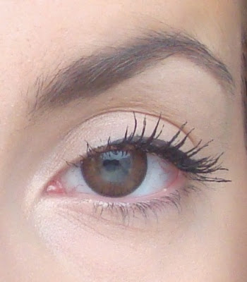 Maybelline the rocket efekt na oczach / effect on the eyes