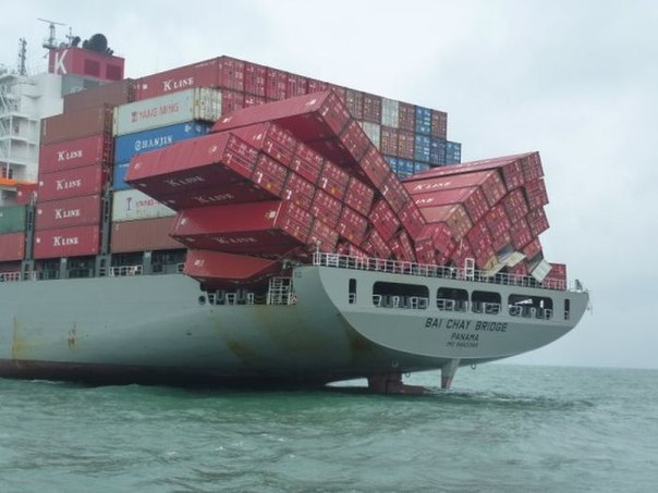 Bilderesultat for pictures container accidents