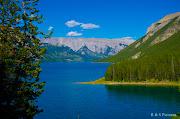 Location: Lake Minnewanka Scenic Dr, Banff National Park, . (banff blog)