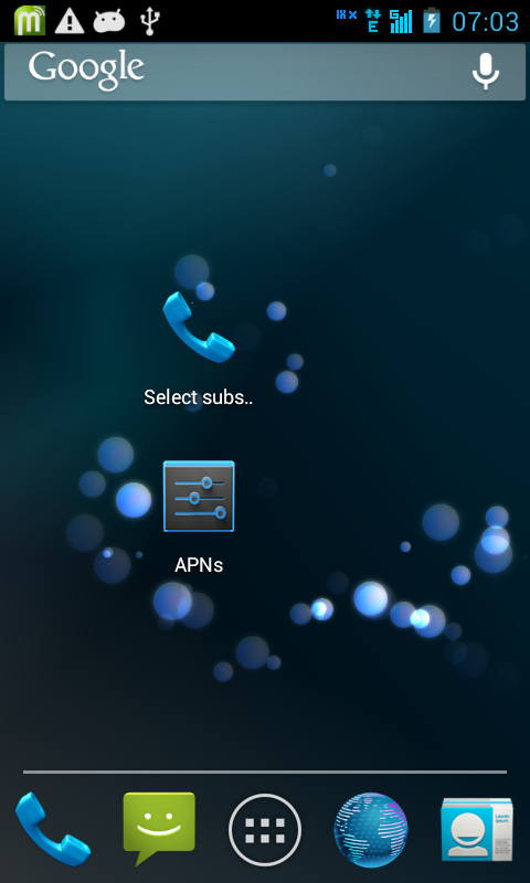 kiri signal gsm maka kargu gsm siap untuk digunakan berinternet