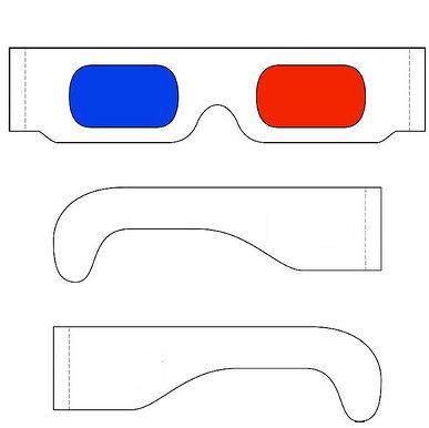 comment faire des lunette 3d 1 youtube. Black Bedroom Furniture Sets. Home Design Ideas