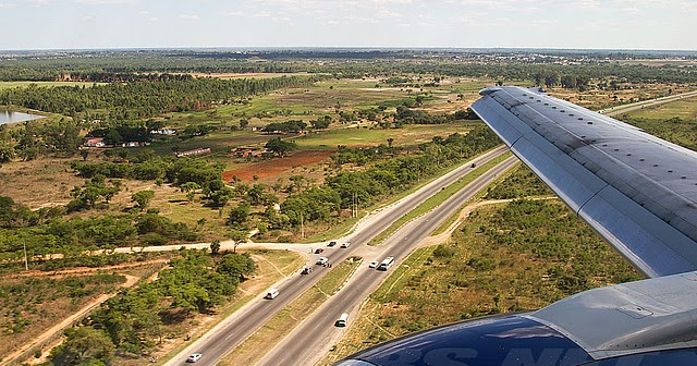 Harare Airport Blog: British Airways/Comair About to Land