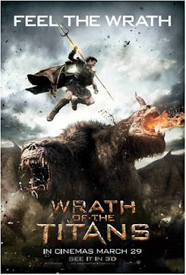 Wrath of the Titans 2012 film movie poster