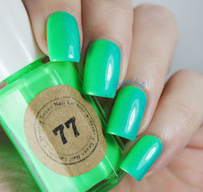 Neon Vertical Gradient by Bedlam Beauty