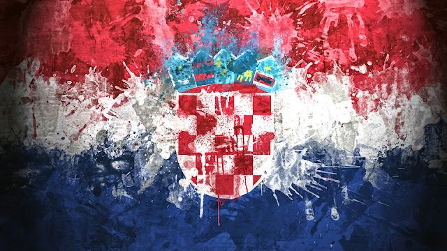 Bandera de La República de Croacia