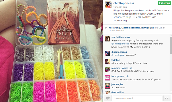 Celebrities that make Loom Bands