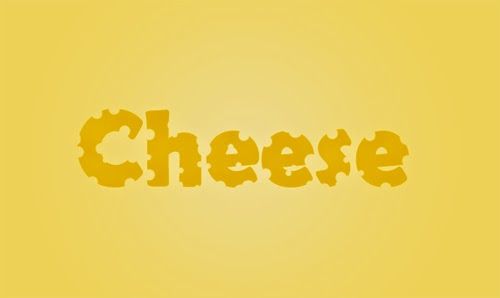 Photoshop Tutorial : Cheese Text Effect