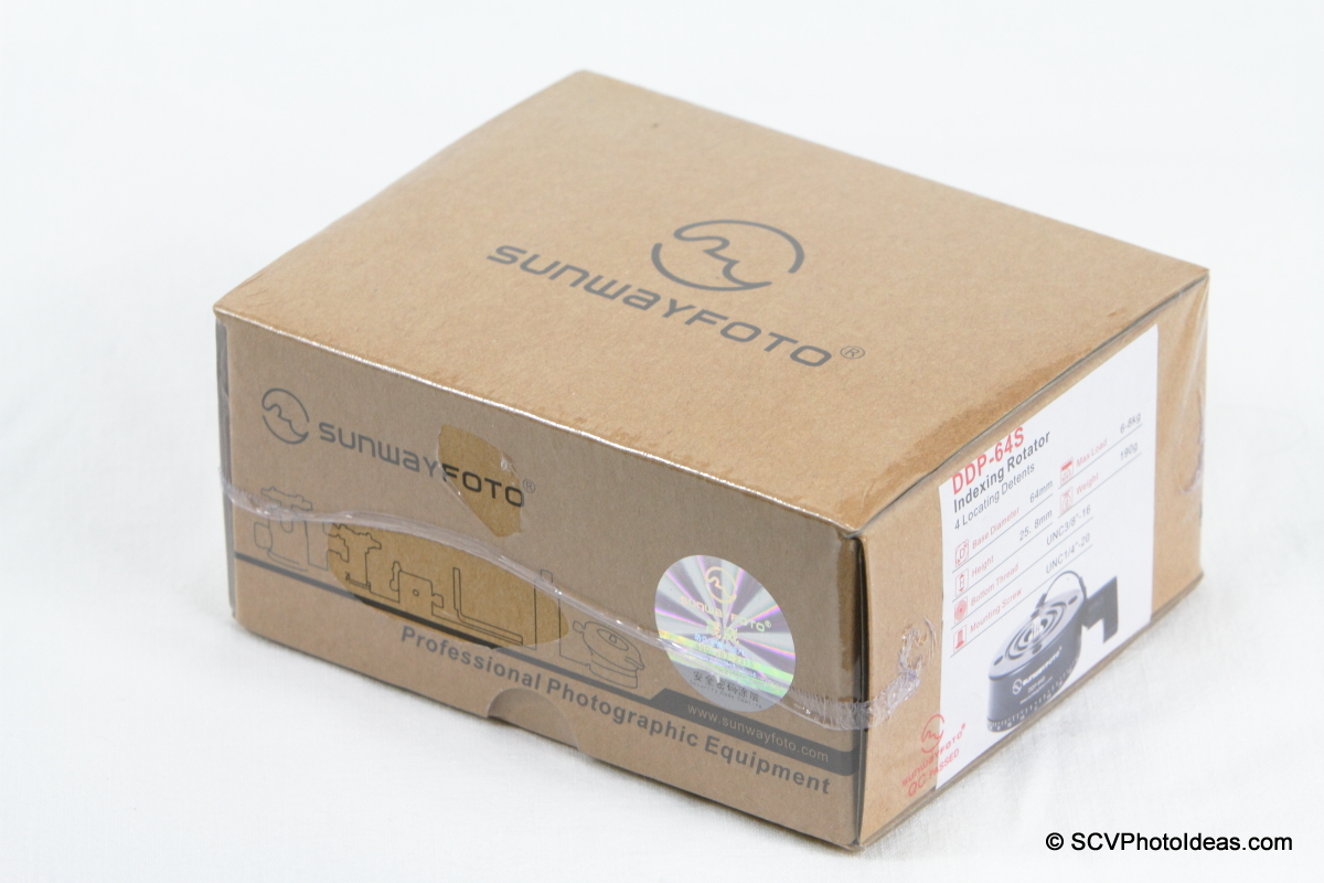 Sunwayfoto DDP-64S PIR box - wrapped