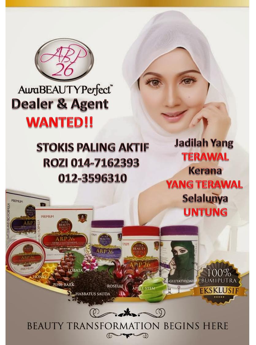 jana pendapatan dengan aura beauty perfect, produk kecantikan dan kesihatan lelaki dan wanita