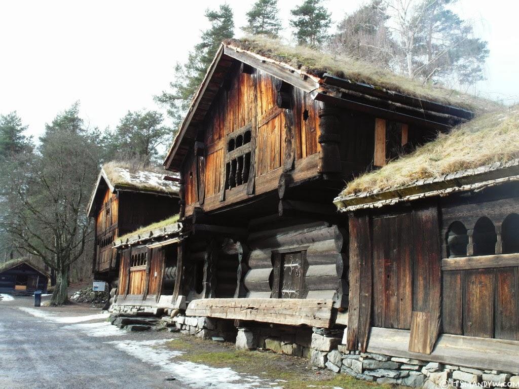 【挪威】 冬天的 挪威民俗博物館