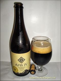 Elevation Beer Company Apis IV Quadrupel