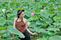 Thai nha van lo nhu hoa 025 Trọn bộ ảnh Thái Nhã Vân lộ nhũ hoa cực đẹp