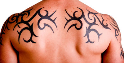 tatuaje tribal trazo fino
