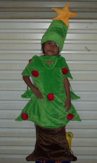 KSN-001 Kostum natal-Pohon natal