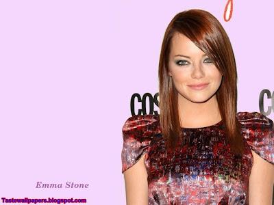 Emma Stone hot Desktop Wallpaper