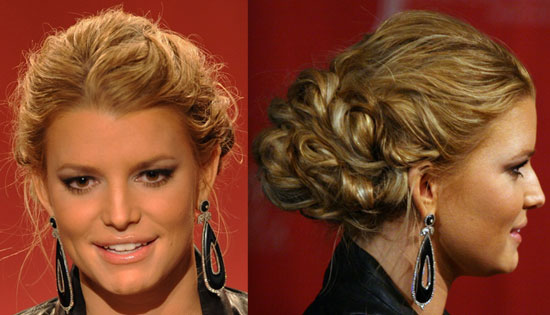 pictures of jessica simpson hairstyles. Styles jessica simpsons formal