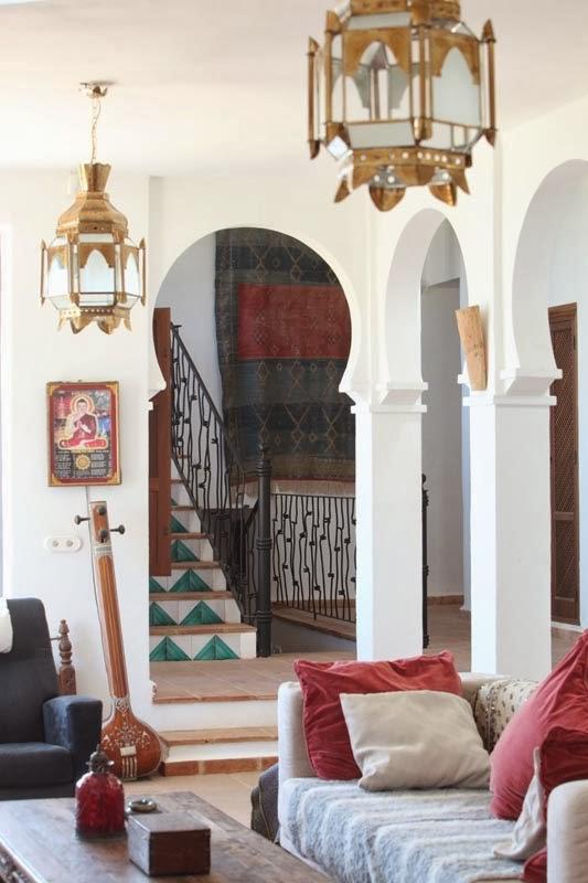 En mi espacio vital muebles recuperados y decoraci n for Plato de decoracion marroqui salon 2014