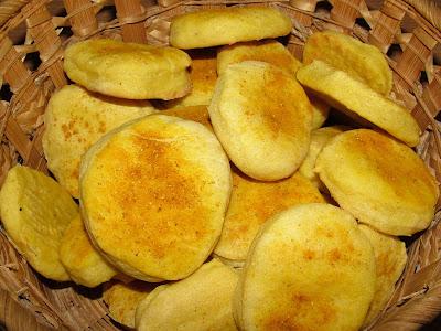 Chlebki dyniowe curry